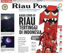 Kasus Positif Bertambah 593, Riau Masih Tertinggi di Sumatera