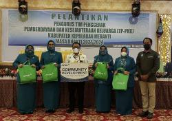 RAPP Bantu PMT untuk 1.000 Balita dan Puluhan Bumil di Meranti
