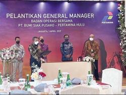 Putra Sungai Apit Jabat GM BOB PT BSP-Pertamina Hulu