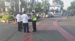 Tabrakan Beruntun, 4 Mobil Terlibat Lakalantas di Tugu Zapin Pekanbaru