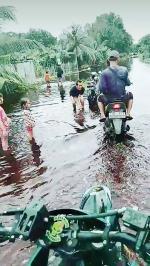Dua Hari Diguyur Hujan, Dua Desa Banjir