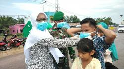 IBI Ranting Bagan Punak Bagikan Masker
