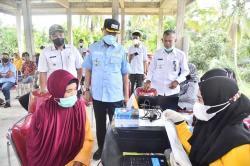 Wabup Tinjau Pelaksanaan Vaksin untuk Lansia