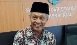 NTP Riau September 2021 Naik 3,35 Persen