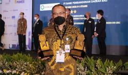 Bank BJB Raih Tiga Penghargaan TOP GRC Award 2021
