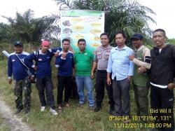 BBKSDA Pasang Imbauan Waspadai Harimau di Perbatasan Pekanbaru-Kampar
