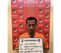 Edarkan Ratusan Butir Ekstasi, Oknum Honorer Bengkalis Dibekuk Polisi