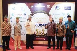 PT BSP Raih Tiga Penghargaan di Top BUMD Award 2021