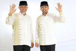 Kamis, Gubernur dan Wagub Sumbar Dilantik Presiden