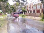Diguyur Hujan, Jalan Srikandi Banjir