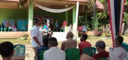 Gerindra Gelar Vaksinasi Covid-19 untuk 500 Orang Masyarakat Kuantan Mudik