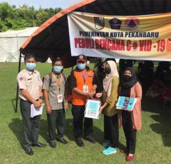 KKN Unand Bantu APD ke Rumah Sakit