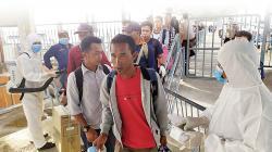 TKI Pulang, ODP Riau Naik