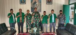 PC GP Ansor Rohil Silaturrahmi ke Dandim 0321/Rohil