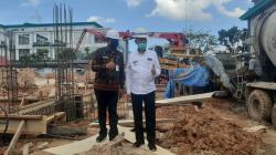 Tinjau Pembangunan Gedung OK RSUD Dumai, Wako: Insya Allah Desember Diresmikan