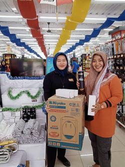 Mitra Bangunan Supermarket Pekanbaru Bertabur Hadiah