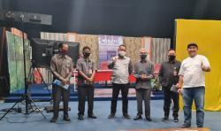 Persiapan Debat Kandidat, Tiga KPUD Tinjau Riau Tv