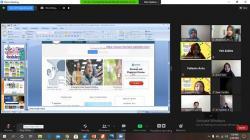 Prodi BI UIR Gelar Webinar Bersama Guru SMA/SMK Se-Inhu