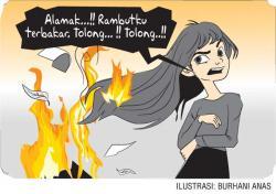 Kebakaran Rambut