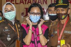 Pinangki Sirna Nirmala Dituntut 4 Tahun Penjara