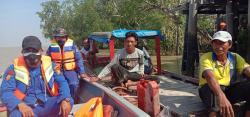 Nelayan Bagansiapi-api Hilang Diterkam Buaya