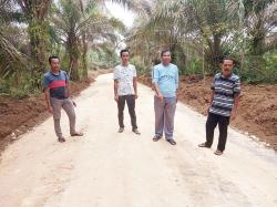 Masyarakat Koto Kombu Bersyukur Akses Jalan Terbuka