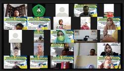 Kadiskes Riau Tegaskan Pentingnya Prokes saat Webinar Pascasarjana Unilak