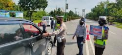 Polres Siak Dirikan Lima Pos Penyekatan Pemudik, Ini Lokasinya