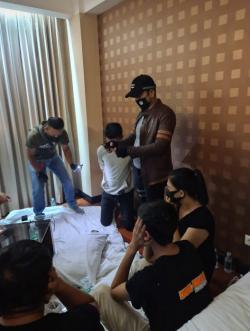 Tiga Pasangan Diamankan Saat Pesta Narkoba di Hotel