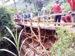 Jembatan Sabar Suayan Selesai Diperbaiki