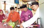 Kantor Kas BRK Syariah Kemenag Rohul Layani Setoran Haji