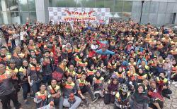 500 Peserta Ramaikan KWS BRK 2019
