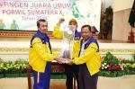 Riau Juara Umum Porwil X Sumatera