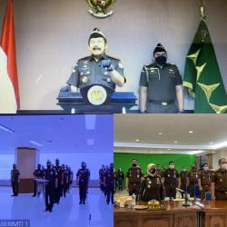 Pelantikan Satgas 53 Virtual, Kajati Riau Sampaikan Arahan Jaksa Agung