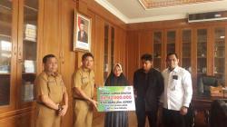 BPJamsostek KCP Rohul Serahkan Santunan Kematian Pekerja Bongkat Muat Sawit