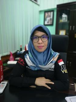 Wahyu Adi-Supriati Pasangan Perdana Mendaftar ke KPU Inhu