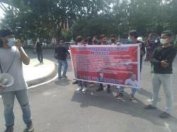 Massa Aksi Minta Usut Tuntas Dugaan Korupsi Multiyears di Bengkalis