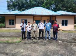 Pengurus DMDI Bengkalis Tinjau Rumah' Mualaf Jangkang