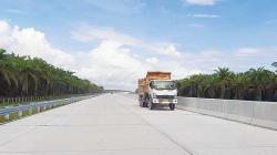 Progres Tol Pekanbaru-Bangkinang Sudah 62 Persen