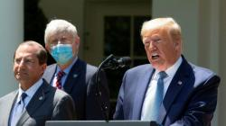 Donald Trump Ungkap Rahasia Kebal dari Virus Corona