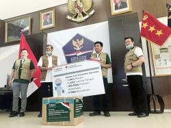 Tanoto Foundation Donasi APD