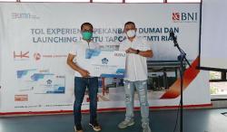 BNI Launching Tapcash Co-Branding PSMTI dengan Experience Tol Permai