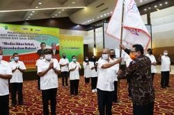 Pengurus SMSI Riau Periode 2020-2025 Resmi Dilantik