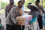 Jaga Kampung di Tembilahan Diresmikan Kapolda Melalui Rapat Virtual