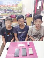 Tiga Pria Diamankan Miliki 23 Gram Sabu