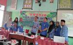 Tim PKMS UPP Bina SMAN 2 Ramhil Menuju Sekolah Adiwiyata