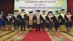 Di Depan 1.169 Wisudawan dan Orang Tua,  Rektor Sampaikan  Prestasi dan Kemajuan Unilak