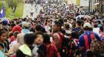 1.500 Migran Honduras  Jalan Kaki Menuju AS