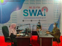 Bujang Dara Inhu Promosikan Wisata Melalui Radio