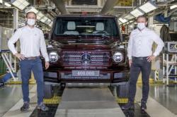 Mercedes-Benz Rilis G-Class Model ke 400 Ribu